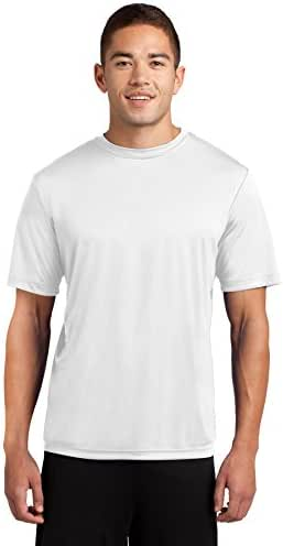 Dri-Tek Men's Big and Tall Short Sleeve Moisture Wicking Athletic T-Shirt