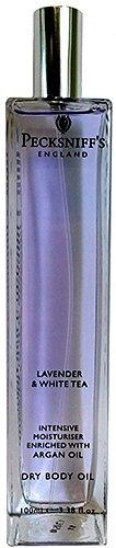 Pecksniffs Lavender & White Tea Intensive Moisturiser Dry Body Oil 3.38 Fl.Oz. From England