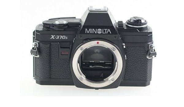 Minolta x-370s X-370 S carcasa Body para cámaras réflex SLR cámara ...