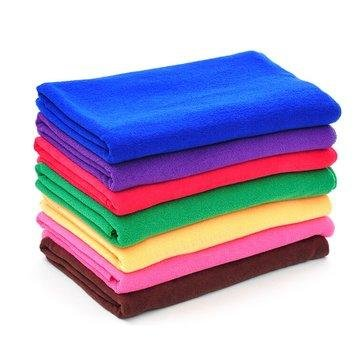 Detailing - 9pcs Color Microfiber Soft Absorbent Wash Towel Car Care Screen Window Cleaning Cloth - Ultra - Bath Chemical Cloths Extra Pack Sport Holder - Polishing Backpacking