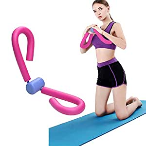 COVVY Thigh Master Thigh Workout Exerciser Thigh Toner Thigh Trimmer Butt/Leg/Arm/Chest Toner, Bodybuilding Fitness Weight Loss Slimming Home Gym Trainer Equipment, Pink