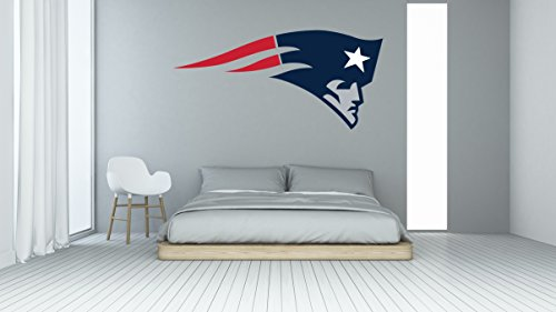 Ottosdecal American football team Wall Decal Vinyl Sticker for Home Interior Decoration Bedroom, Laptop, Window, Mirror, Car (20