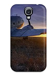 Airplane In The Sunset Phone Case For Galaxy S4
