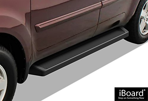 iBoard (Black Powder Coated Running Board Style) Running Boards | Nerf Bars | Side Steps | Step Rails for 2009-2015 Honda Pilot Sport Utility 4-Door & 2009-2013 Acura MDX