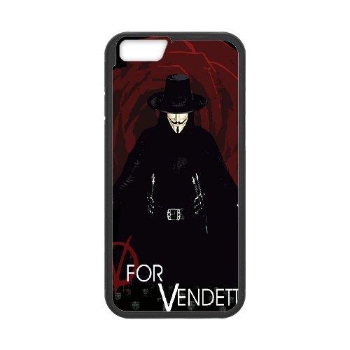 "LP-LG Phone Case Of V for Vendetta For iPhone 6 (4.7"") [Pattern-2]"