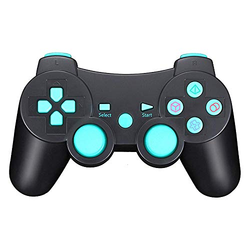 TPFOON Wireless Controller Double Vibration SIXAXIS Gamepad Remote Compatible with Sony Playstation 3 DualShock 3 PC