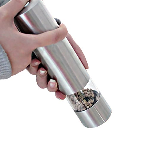 anca-demi-electric-pepper-grinder-stainless-steel-one-touch-automatic-battery-operated-salt-and-pepp