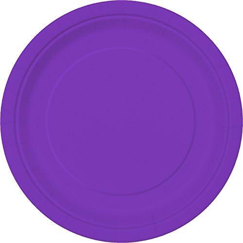 Neon Purple Paper Napkins Unique Party 99212 Pack of 20