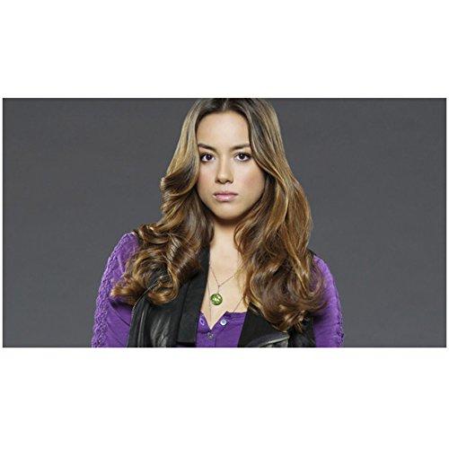 Agents of S.H.I.E.L.D. 8 x 10 Photo Chloe Bennet/Skye Purple Sweater Black Vest kn