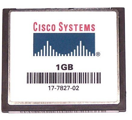 Cisco Genuine 1GB CompactFlash Module by Cisco