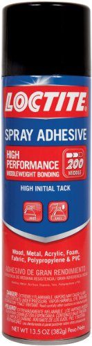 High Performance Spray Adhesive-13.5 Ounces Computers, Electronics, Office Supplies, Computing by Henkel (Image #1)