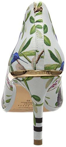 Ted Baker Vyixynp 2 Scarpe Col Tacco Punta Chiusa Donna Bianco highgrove Hummingbird ffffff