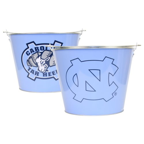 (Collegiate Full Color Beer Buckets (Holds 5+ Beers and Ice) North Carolina Tarheels)
