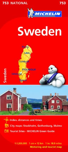 Sweden (Michelin National Maps)