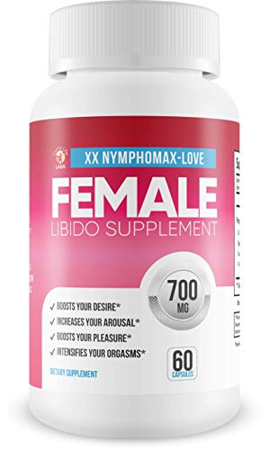 NymphoMax Love – Libido Boost – Female Drive Support – Yohimbe and Blend of Proprietary Natural Ingredients to Support Female Function – Feel Youthful Drive and Energy – Youthful Hormones