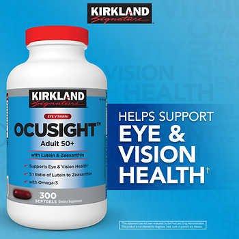 Kirkland Vitamin OcuSight Zeaxanthin softgels product image