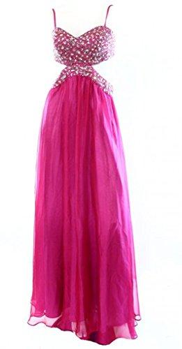 Dress Women's Ball Gown Berry 6 Out 8 1 Cut Decode Embellished qYxUw8ERp