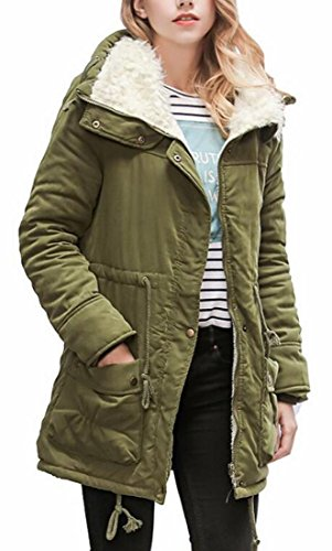 Warm today Parka Thicken Coat 1 Warm Jacket Lined Fleece UK Women Winter FrUntU