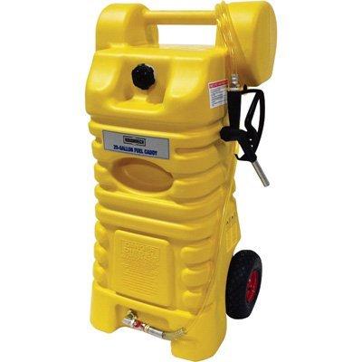 Poly Gas Fuel Tank - Roughneck Poly Diesel Fuel Caddy - 25-Gal. Capacity