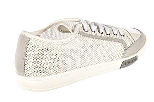 Bikkembergs Herrenschuhe Herren Nylon Sneakers Schuhe olimpian Weiß