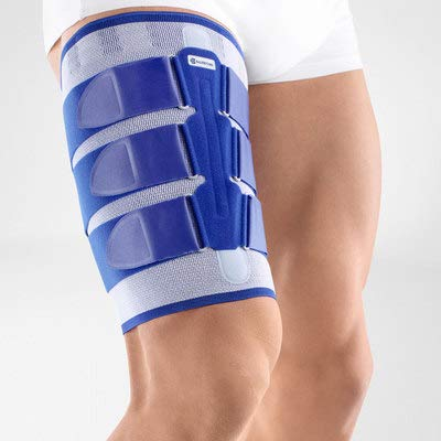 Bauerfeind - MyoTrain - Thigh Support - Support for Injuries to The Thigh or Hamstring - Size 1 - Color Titanium by Bauerfeind (Image #5)