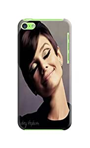 Beauty sincere design tpu skin case cover for iphone 5c of Audrey Hepburn in Fashion E-Mall