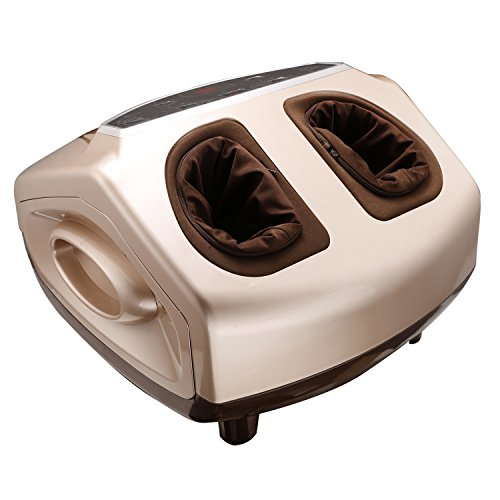 Anfan Foot Massager Shiatsu, Electric Foot Spa with Heat, Ozone and Tumbling, Toes Relieved Machine for Home Office