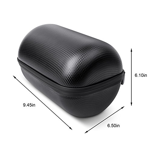 HomePod Travel Case, Carry Bag With Holding Strap Drop, Protection Dust Cover Shockproof Carrying Case For Apple HomePod Speaker (Black) by BESTAND (Image #4)