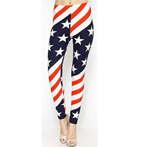 American Summer WB AMERICAN FLAG LEGGINGS Flag Leggings product image
