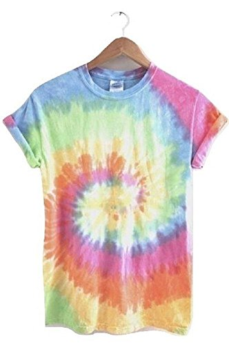 Era of Artists, LLC Pastel Rainbow Tie-Dye Unisex Tee