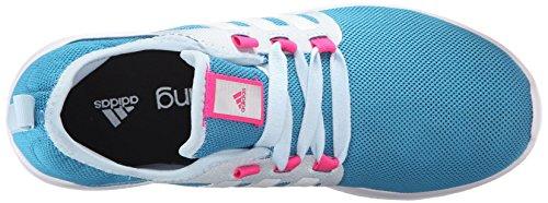 Adidas Performance Womens Fresco Rimbalzo Scarpa Da Corsa Artigianale Blu F16 / Bianco / Blu Ghiaccio F16