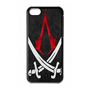 iPhone 5C Cell Phone Case Black Assassin's Creed AFT843923