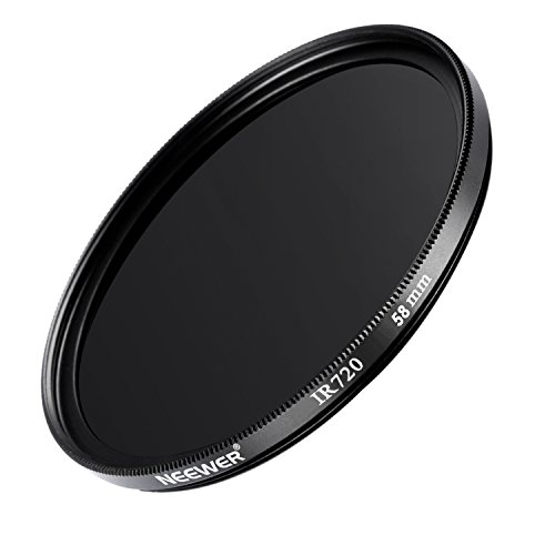 NEEWER 58MM - IR720 Infrared Filter - for Canon EOS Rebel T2