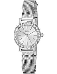 GUESS Women's Quartz Stainless Steel Casual Watch, Color:Silver-Toned (Model: U0954L1)