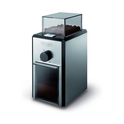 chollos oferta descuentos barato Delonghi KG89 Molinillo de café 110 W Metal Plástico Plateado