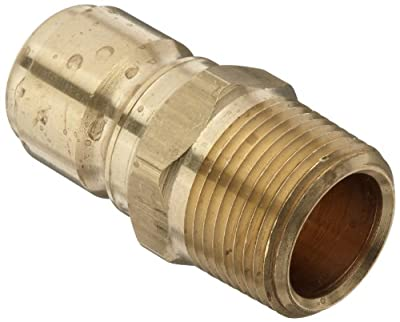 Dixon STMP Series Brass Hydraulic Quick-Connect Fitting, Plug, Coupler x NPT