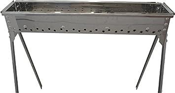 Barbacoa Asar arrosticini inoxidable 100 cm