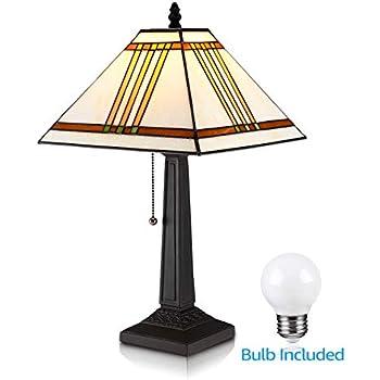 Amazon.com: Amora iluminación am1050tl13 estilo Tiffany ...