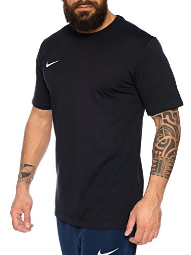 Nike Herren T-Shirt Team Club Blend Tee 658045 Rundhals, Größe:XXL, Farbe:Dunkelblau