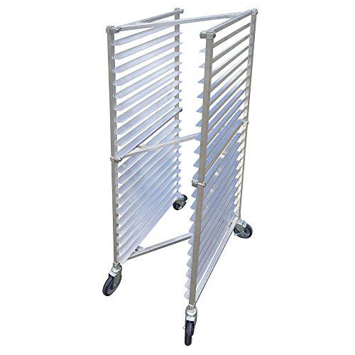 Nesting Aluminum Bun Pan Rack - HUBERT Nesting Bun Pan Z-Rack for 20 Pans Aluminum 20 1/4