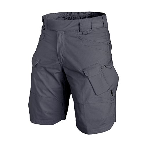 HELIKON-TEX Urban Line, UTS Urban Tactical Shorts 11'' Polycotton Ripstop Shadow Grey Waist 36 by HELIKON-TEX