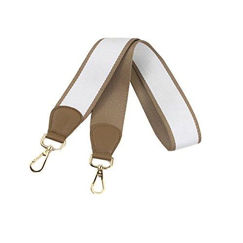 Universal Umily Para Bolsa Cinturón Desmontables Del Hombro Hombro Recambio Bolso de Accesorios 103cm De Blanco Correa Mujeres Cinturón drXxrp6