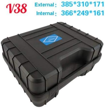 Caja herramientas Caja de plástico de seguridad fotográfico caja ...