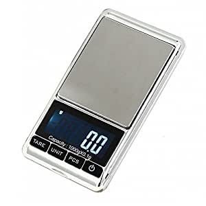 EVINIS 1000G by 0.1G Mini Digital Scale Pocket Weighing Scales Multifunctional Electronic Scales for Jewelry