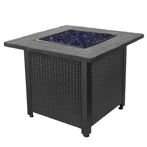 Endless Summer GAD1401GB LP Gas Outdoor Fire Table, Multicolor ()