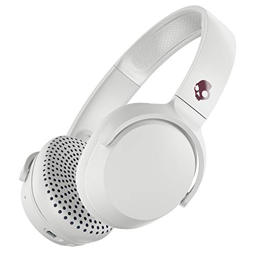 Skullcandy Riff Wireless - Auriculares Bluetooth, (Vice/Gris/Crimson): Amazon.es: Electrónica