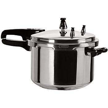 Amazon.com: IMUSA USA Stovetop Aluminum Pressure Cooker Silver (7 ...
