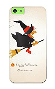 Series Skin Case Cover For Iphone 5c(halloween Witch)