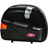 Studds 92030002 Mobike Luggage Cruiser Side Box with Main Frame and Universal Fitment Clamp (Black)