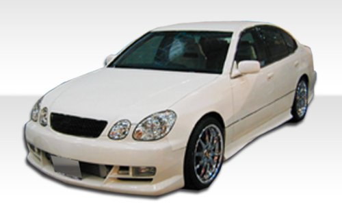 1998-2005 Lexus GS Duraflex VIP Kit- Includes VIP Front Bumper (102314), VIP Rear Bumper (102316), and VIP Sideskirts (102315). - Duraflex Body Kits